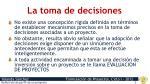 la toma de decisiones1