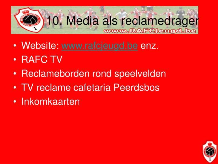 10. Media als reclamedrager
