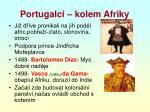 portugalci kolem afriky