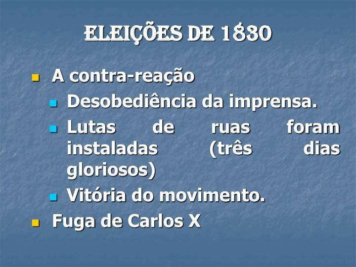 Eleições de 1830