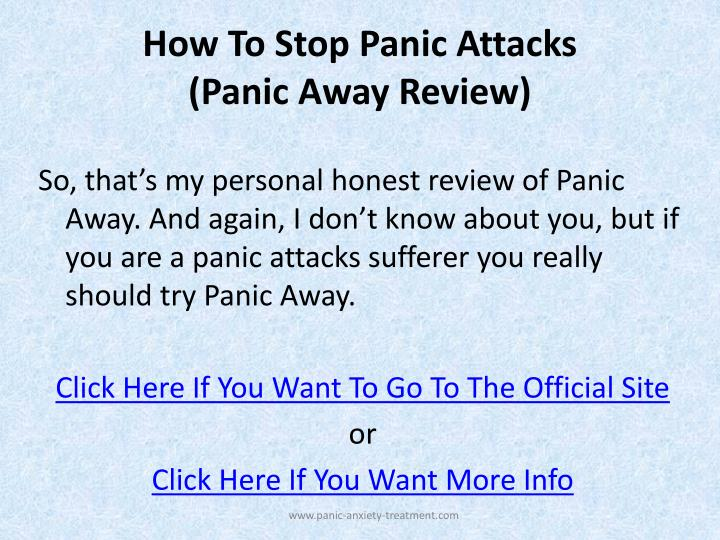 Best Natural Treatment For Panic Attacks