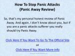 how to stop panic attacks panic away review5