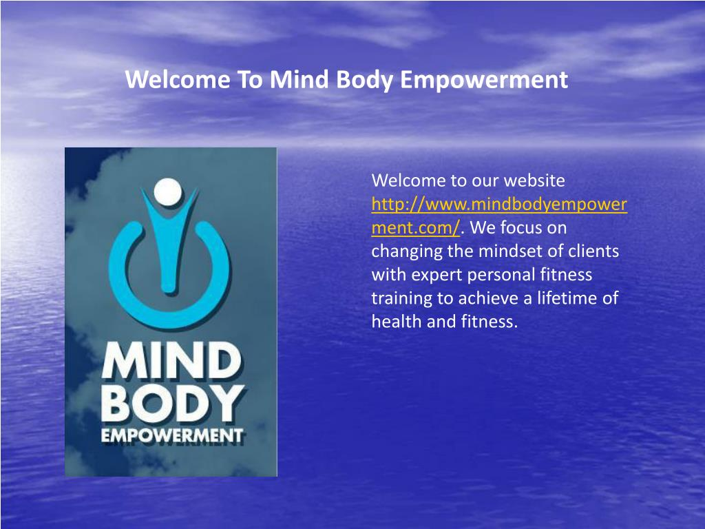 Welcome To Mind Body Empowerment