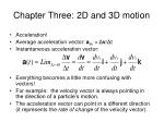 chapter three 2d and 3d motion7