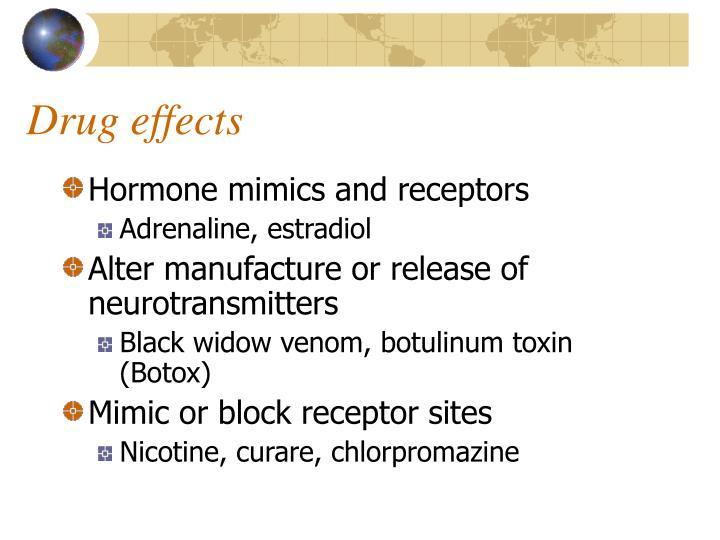 Hormone mimics and receptors