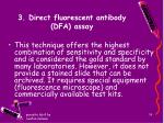 3 direct fluorescent antibody dfa assay
