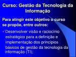 curso gest o da tecnologia da informa o1