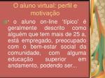 o aluno virtual perfil e motiva o9