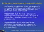 int gration linguistique des migrants adultes