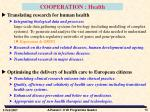 cooperation health1