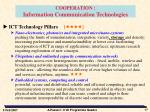 cooperation information communication technologies