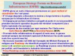 european strategy forum on research infrastructures esfri http cordis europa eu esfri