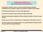 technology platforms http cordis europa eu technology platforms