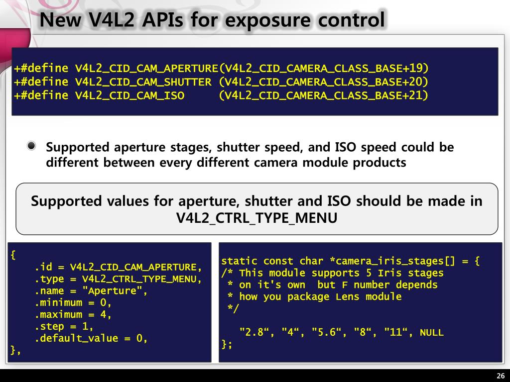 PPT - Framework for digital camera in Linux PowerPoint Presentation