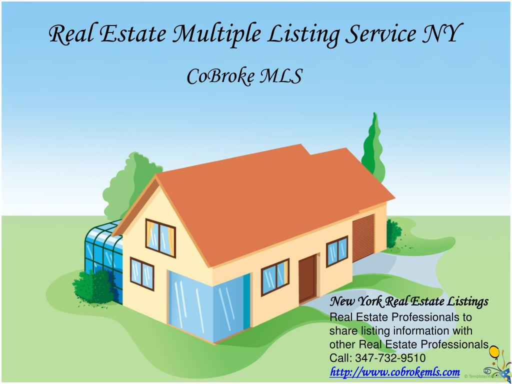 real estate multiple listing service ny l.