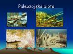 paleozojska biota
