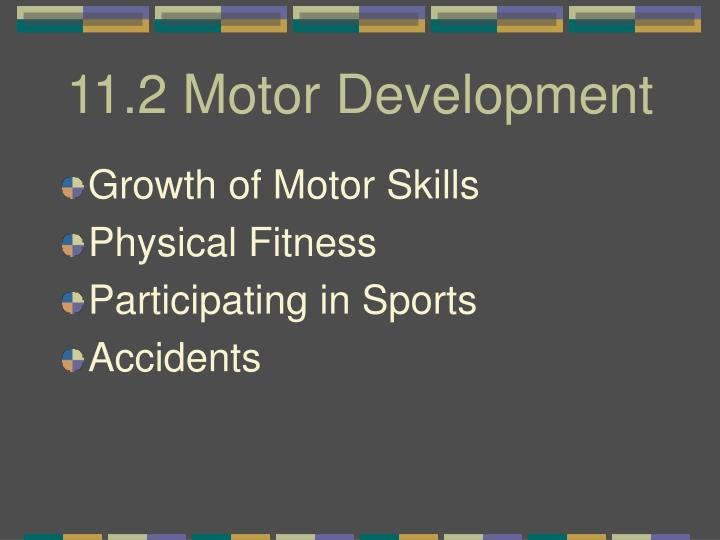 11.2 Motor Development