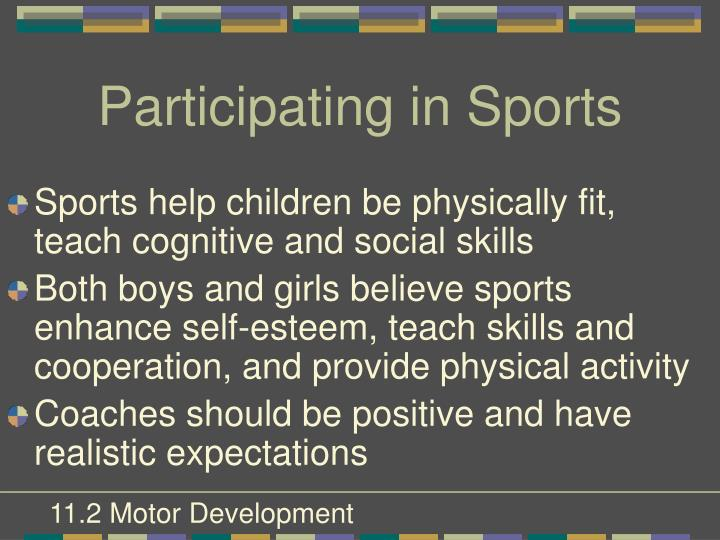 Participating in Sports