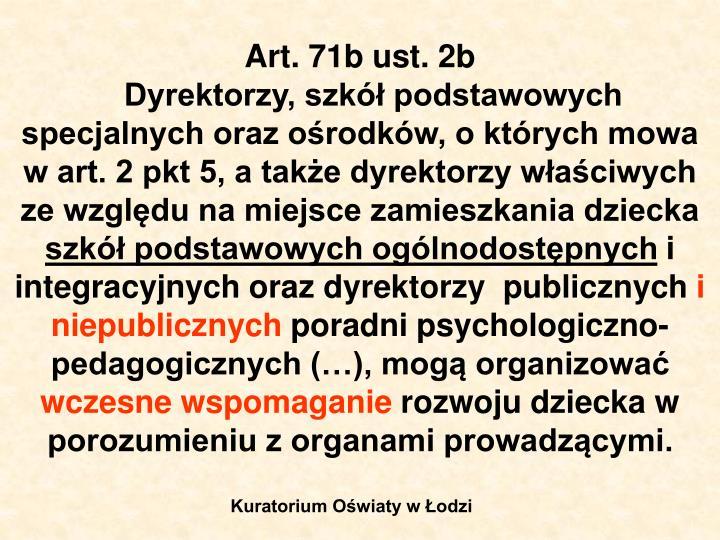 Art. 71b ust. 2b