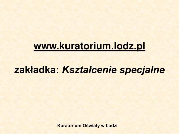 www.kuratorium.lodz.pl