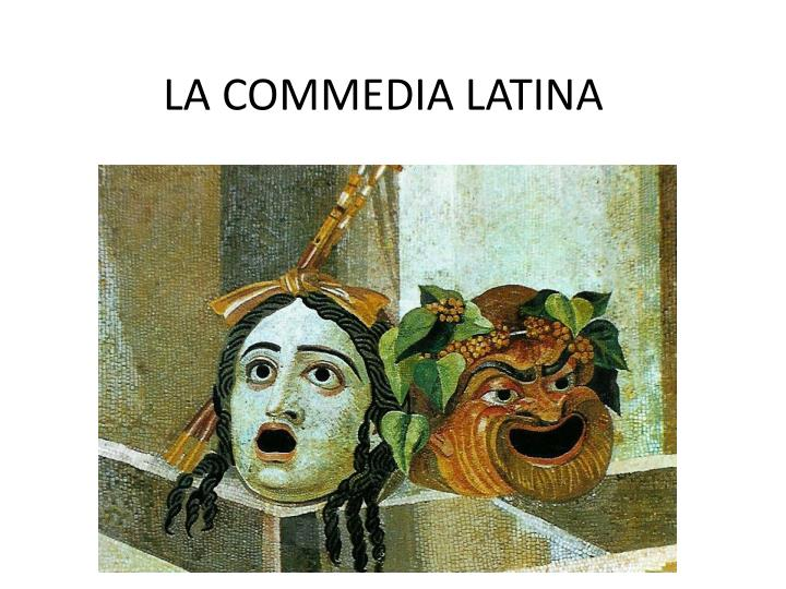 la commedia latina n.