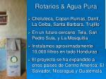 rotarios agua pura