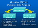 one way anova partitions total variation5