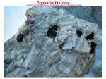 pegmatite outcrop