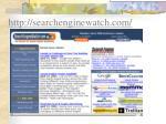 http searchenginewatch com