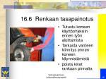 16 6 renkaan tasapainotus