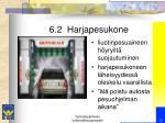 6 2 harjapesukone