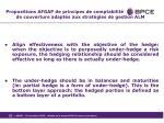 propositions afgap de principes de comptabilit de couverture adapt s aux strat gies de gestion alm5