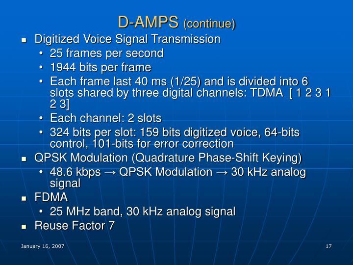D-AMPS