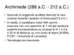 archimede 288 a c 212 a c1