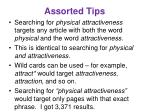 assorted tips