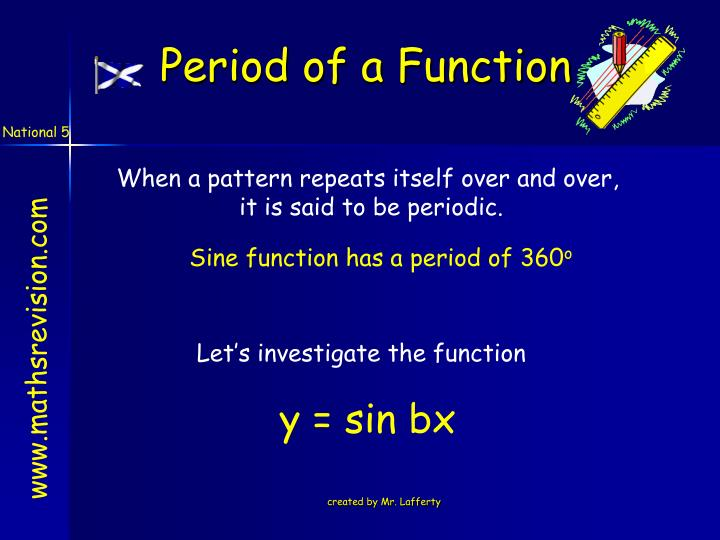 Period of a Function