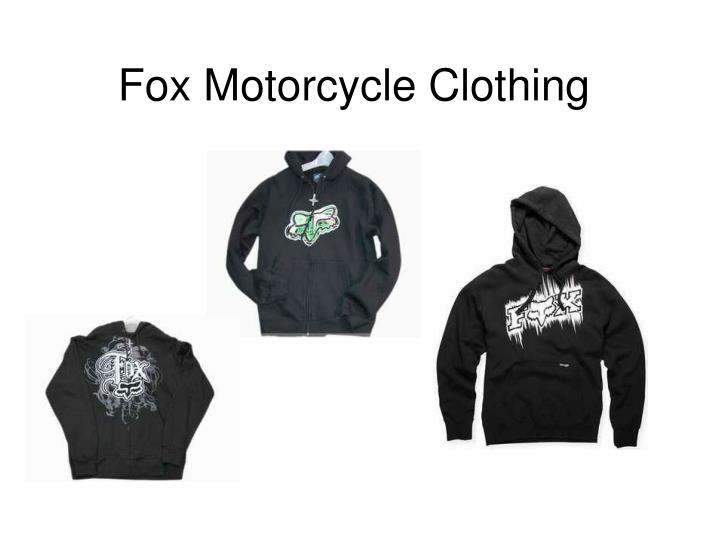 fox motorcycle clothing n.