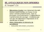 iii antalgiques non opioides l acupan 2