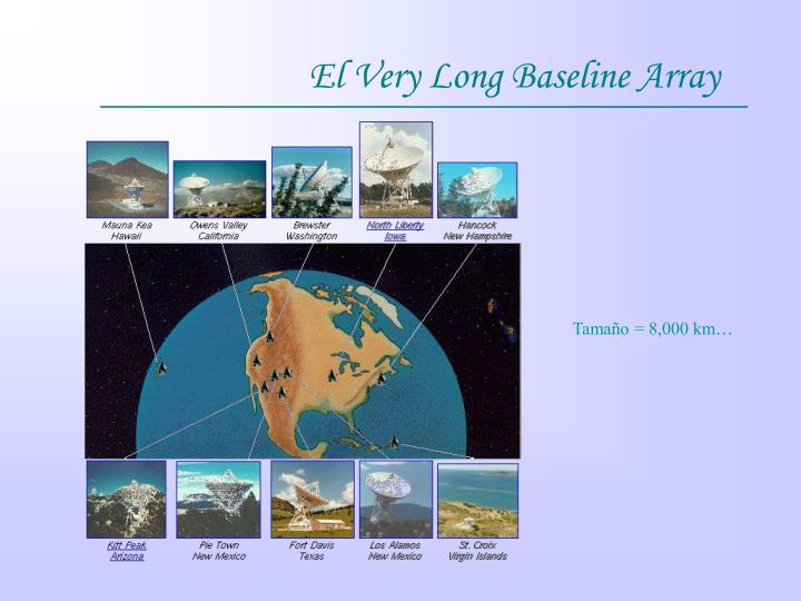 El Very Long Baseline Array