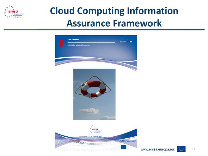 Cloud Computing Information Assurance Framework