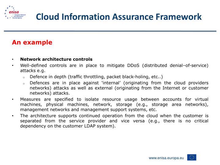 Cloud Information Assurance Framework