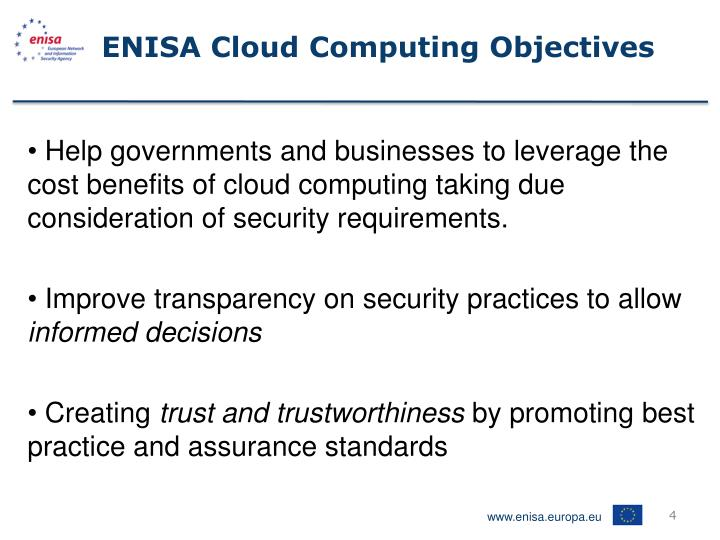 ENISA Cloud