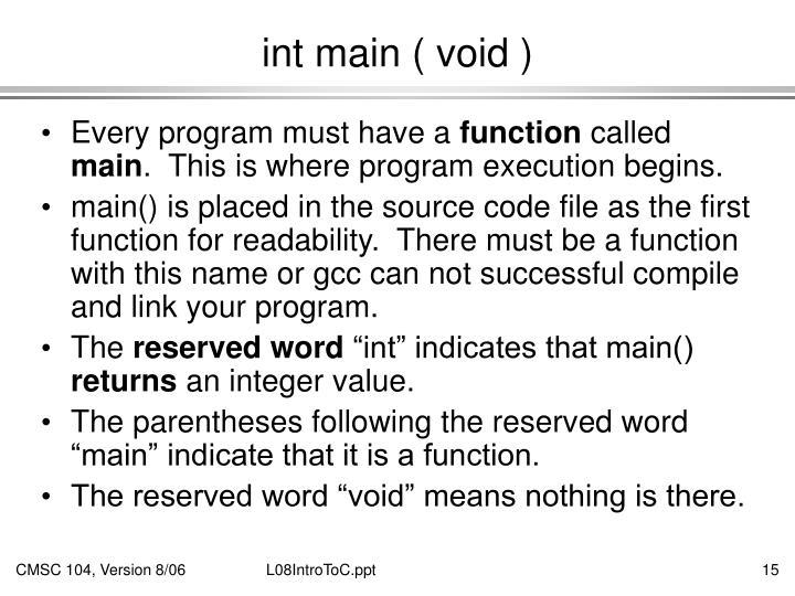 int main ( void )