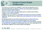 hyugens cassini global collaboration
