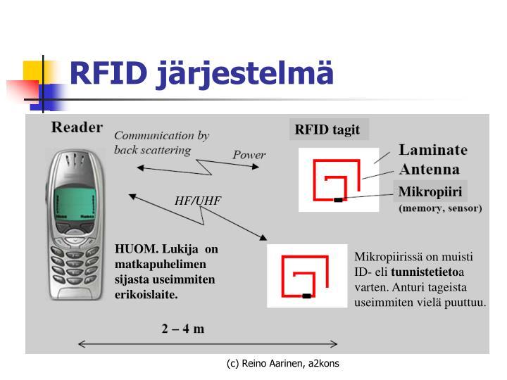 RFID tagit