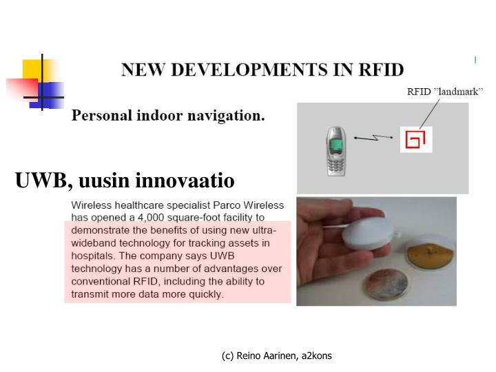 UWB, uusin innovaatio