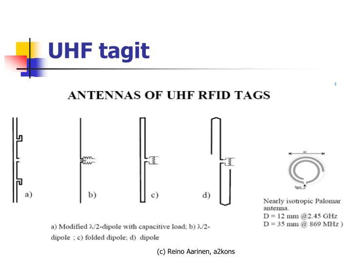 UHF tagit