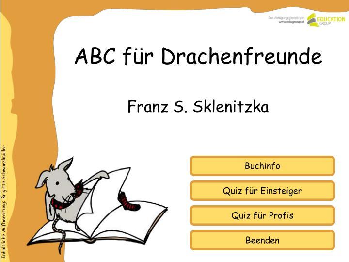 Abc f r drachenfreunde