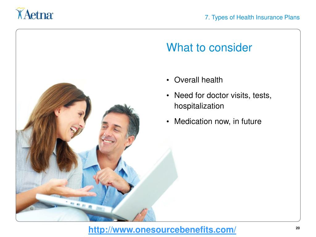 7. Types of Health Insurance Plans