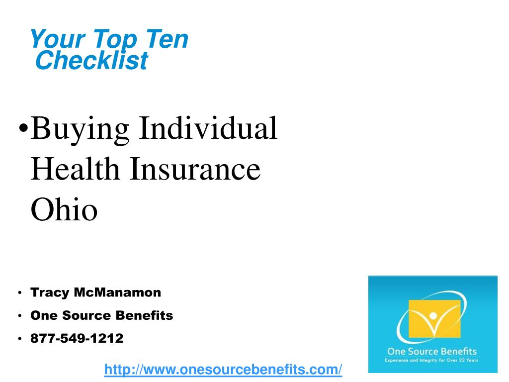 your top ten checklist l.